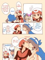 Pokemon Trainer Ruby x Sapphire by TheBoar