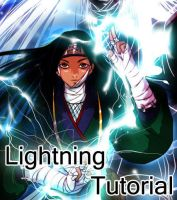 Cartoon Lightning Tutorial by purplerubyred