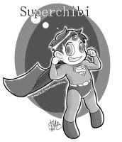 Superchibi Doodle by OrangeBlueCream