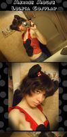Minnie Mouse Lolita :WIP: by inuyashasno1girl