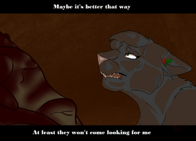 Warrior Scene 2: Caved in by ClawsandSkulls98