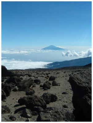 Kilimanjaro view 2 by narflebuttocks