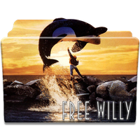 Free Willy (1993) Folder Icon by giilpereiraa