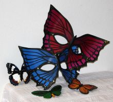 Leather Butterfly Assortment by Lady-Cass