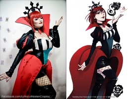 Queen Of Hearts - Comparison by Luthy-Lothlorien