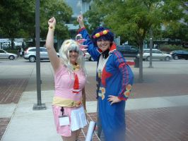 Otakon08 - Nia and Simon by EdElricsGirl