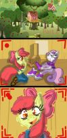 CMC Tickle challenge Part 2 by Horrormage