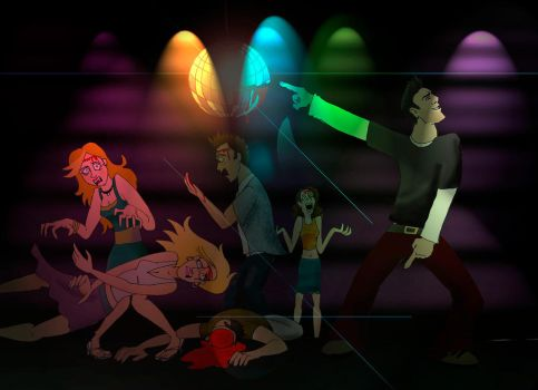 Sylar in disco by timacs