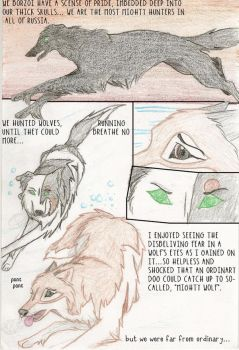 Heart of a borzoi - pg 1 by redwolf24