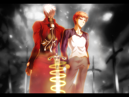 Unlimited Blade Works by AznSoraX