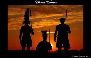 African warriors by sigurdhr