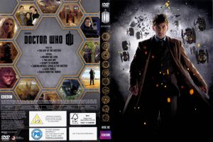 Doctor Who 50th Anniversary Box Set disc 2 cover. by JediSenshi