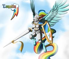 The Pegasus Knight of Loyalty by Hellbeholder