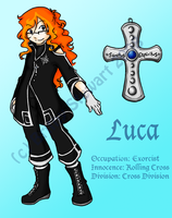 DGM OC- Luca by HoneyAppleNinja
