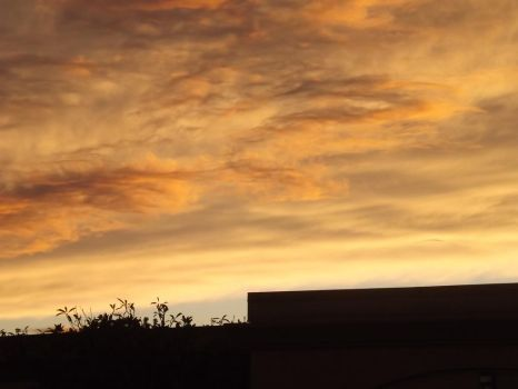 Sunset clouds by Anastasia211
