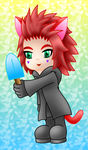 Neko Axel colored by MikariStar