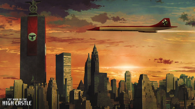 The Man In The High Castle : New-York by Aste17