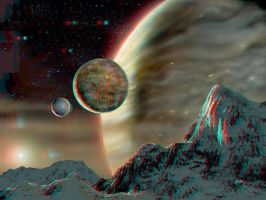Alien Moons 3-D conversion by MVRamsey