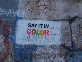 Say it in Color - West Bottoms by Debellos