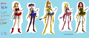 Sailor characters by ShannatheHedgehog15