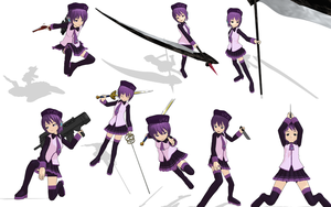 MMD Pose Pack: 8 Fighting Poses by AsparagusMMD