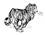 Running Tiger Tribal Commission by InsaneRoman