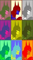 Batman Pop Art 3 by TheGreatDevin