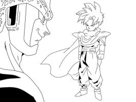 Gohan Vs Cell by RuokDbz98