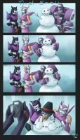 Contest Entry First Snow by crimson-nemesis