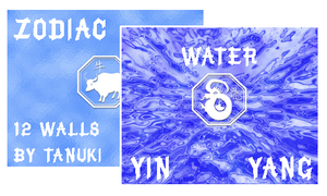Chinese zodiac : Water by t4nuki