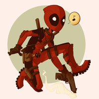 Deadpool by Aelwen