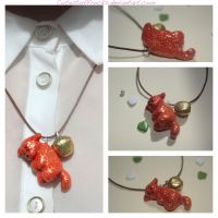 Firestar Necklace by Cutestuffrocks