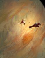 ISS Whitebird by JimHatama