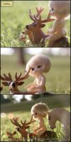 Naked in Nature 6 of 8 by MySweetQueen-Dolls