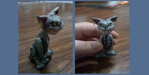 Cheshire Sculpey by Master-Diess