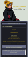 $ Deidara Journal CSS Ver. 2 $ by sakicchi