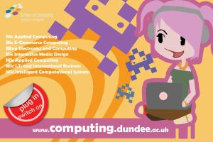 Computing Courses Postcard by theGlimmerTwin
