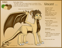 Vince Ref Sheet by SweetLhuna