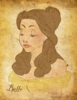 Disney - Belle by van-etheran