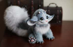 My Little Dragon: Grey one by Santani