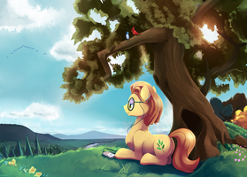 Standing Leaf Commission by GSphere