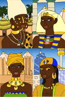 Hatshepsut Through the Ages by BrandonSPilcher