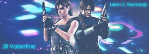 Jill and Leon by JillValentinexBSAA