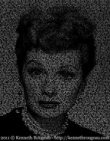 Lucille Ball - TypeFace by synchronicity313