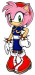 Amy Rose With Chun-Li Costume by AdrianoRamosOfHT