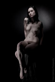 Fine Artistic Nude Portrait 2 by BrianMPhotography