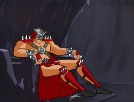 Shao Kahn Bruce Timm style (wip) by THW1138