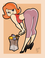 Debbie Turnbull by AtomicTiki