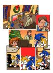 Sonic Eggs Christmas page 1 by Yardley