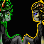 Sollux and Samuil prize by evillovebunny500